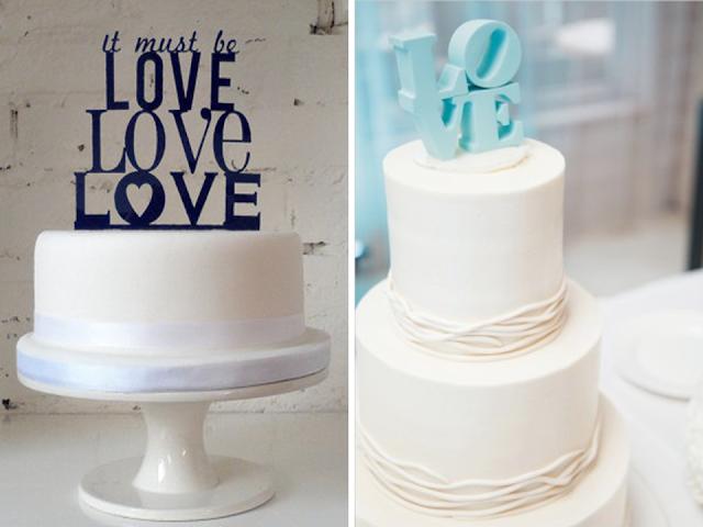 topo de bolo de romântico para casamento