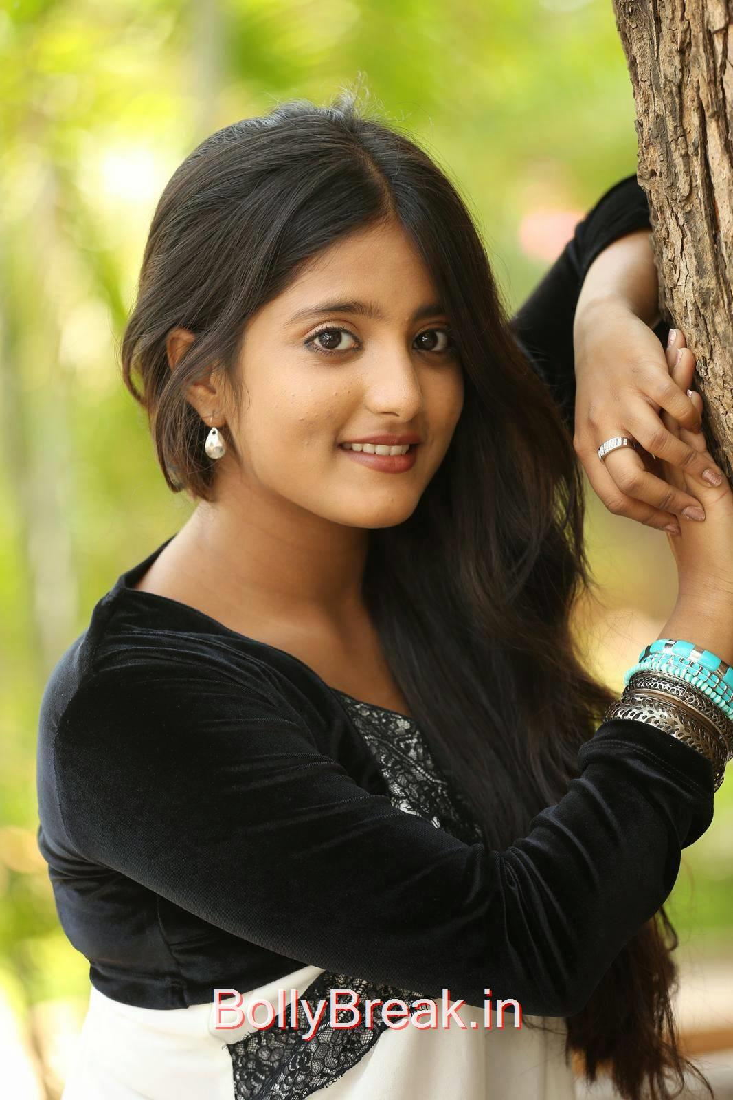Ulka Gupta Stills At Andhra Pori Movie First Look Launch, Cute, Sweet, Innocent Indian Actress Ulka Gupta hot HD Photo Gallery Pics