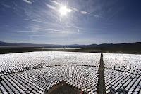 Ivanpah Solar Power Facility (Credit: AP Photo/Chris Carlson) Click to Enlarge.