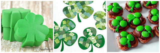 St Patricks Day for Kids. Crafts, Activities and Snacks for St Patricks Day.