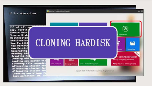 Cara Cloning Hardisk Dengan Minitool Partition Wizard