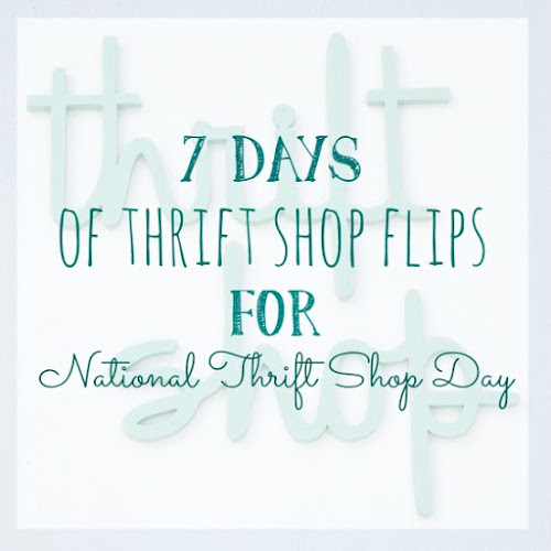 7 Days of Thrift Shop Flips for National Thrift Shop Day - Day 5 - Vintage Spice Rack