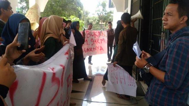 Oknum Dosen di Lampung Dilaporkan Suka Meraba-raba Mahasiswinya Saat Kumpulkan Tugas