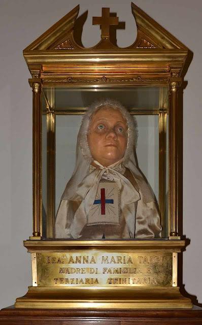 Busto da Beata Ana Maria Taigi