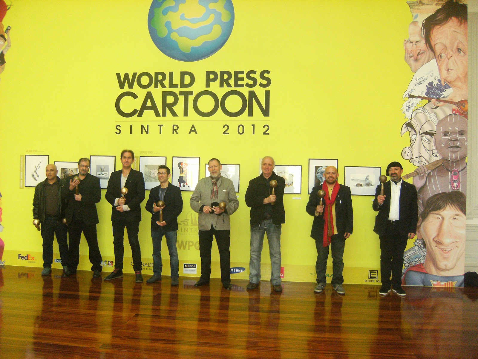 Resultado de imagen de david vela world press cartoon