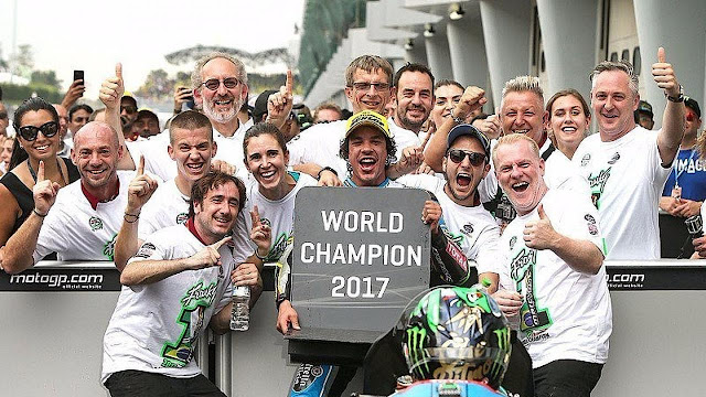 Juara Dunia Moto2 2017, Franco Morbidelli