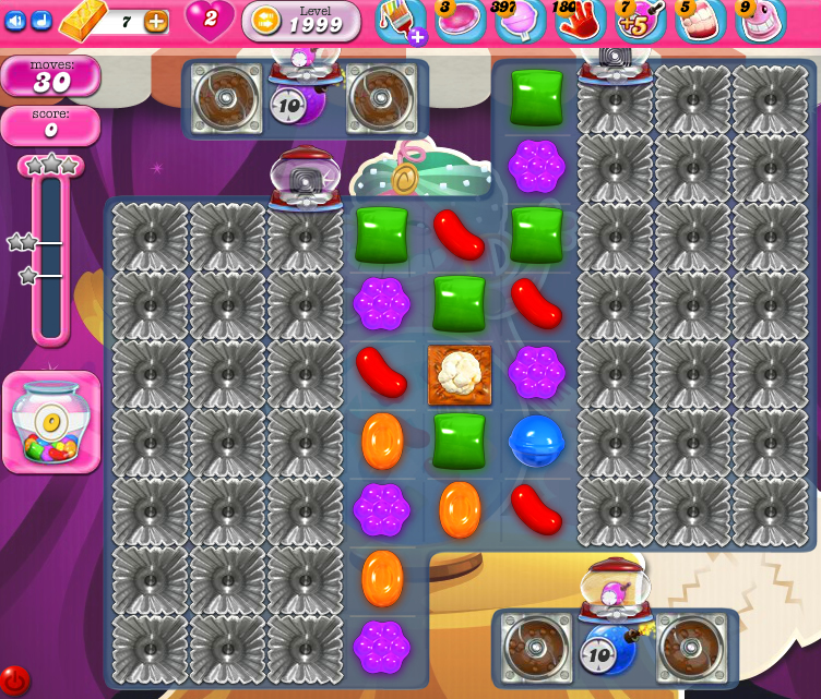 Candy Crush Saga 1999