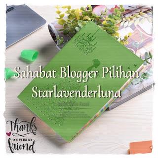 Sahabat blogger pilihan Starlavenderluna