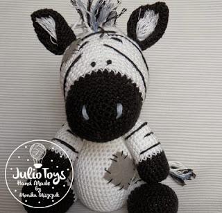 Zane the Zebra Free Amigurumi Pattern | Crochet zebra pattern ... | 307x320
