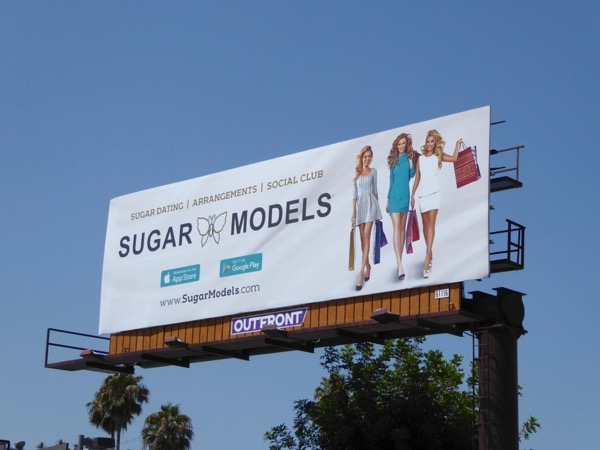 Sugar Models Summer 2017 billboard