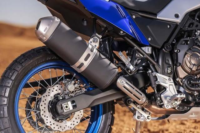 Exosto normal de la Yamaha Tenere 700