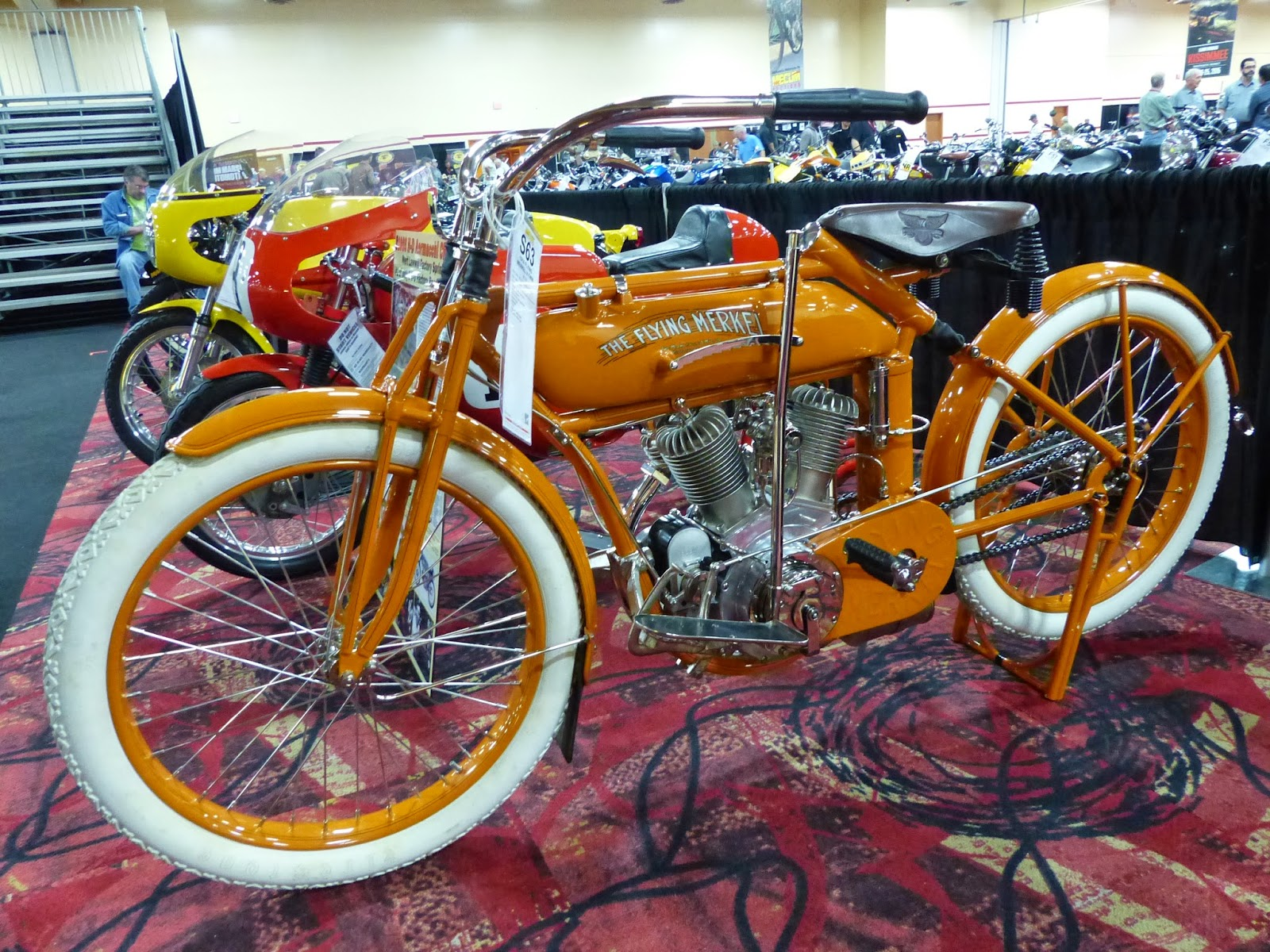 1915 Flying Merkel for sale at the 2015 Mecum Las Vegas Motorcycle Auction f85904b79