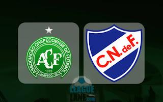 Nacional vs Chapecoense AF en Copa Libertadores 2017