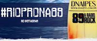 Promoção Pranchas Dnaipes na Rádio Rock 89FM
