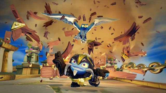 Descubre la figura Air Strike de Skylanders Imaginators