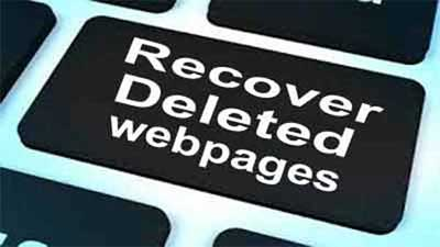 recover deleted webpages