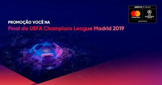 Promoção você na Final da UEFA Champions League Madrid 2019