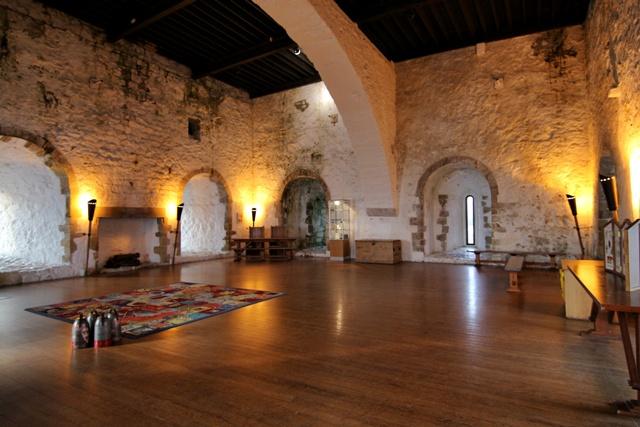 Salones del Castillo de Carrickfergus en Irlanda del Norte