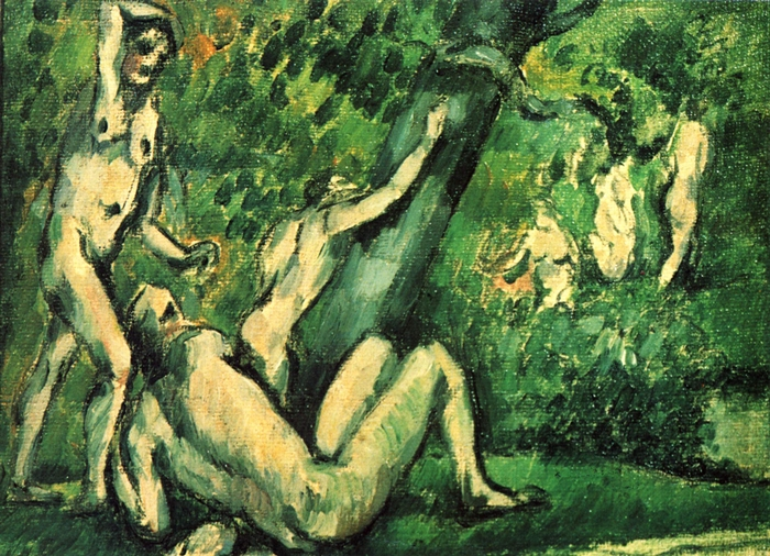 Paul Cézanne 1839-1906 | French Post-Impressionist painter | The Bather's series