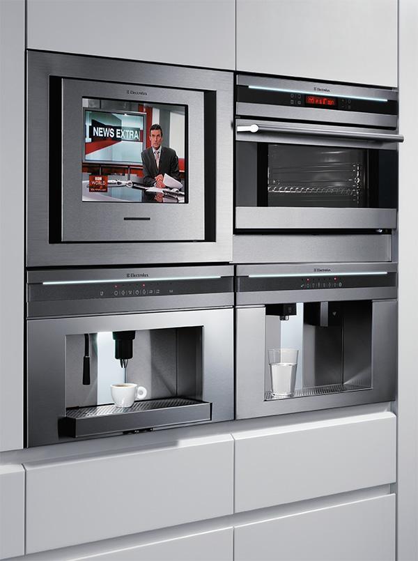 Kitchen Design Modern With Coffee Machine