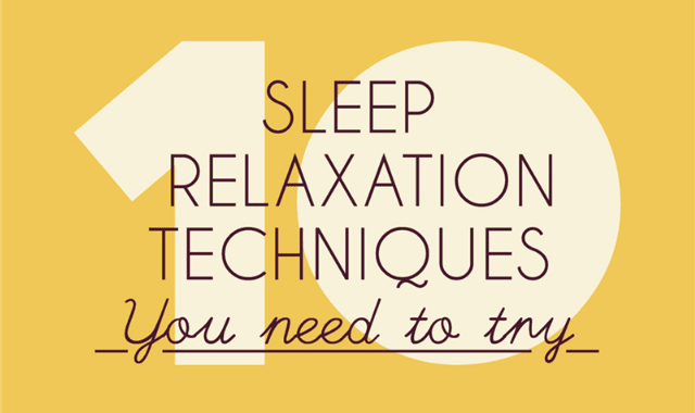 10 Sleep Relaxation Techniques