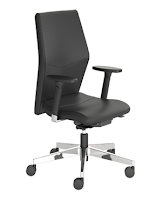 Eden Mid Back Chair with T-Arms