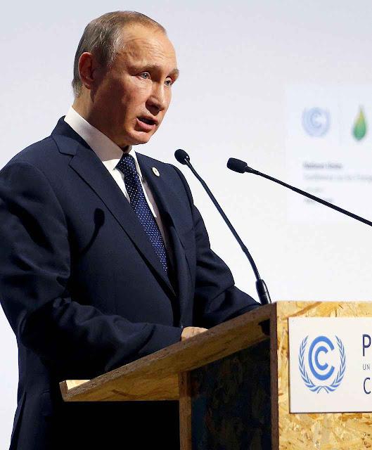 Putin 'que paguem eles', a Rússia só parará as emissões quando modernizar suas fábricas herdadas da URSS, talvez nunca.