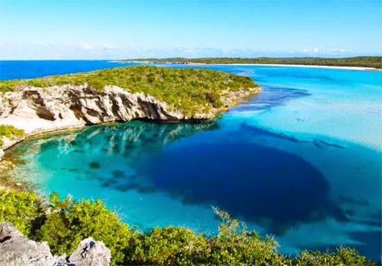 Grande Buraco Azul Bahamas