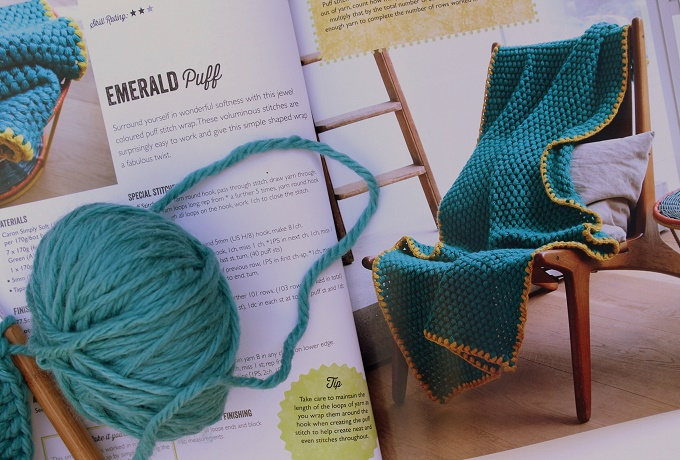 Book review. Modern crocheted shawls and wraps: Laura strutt