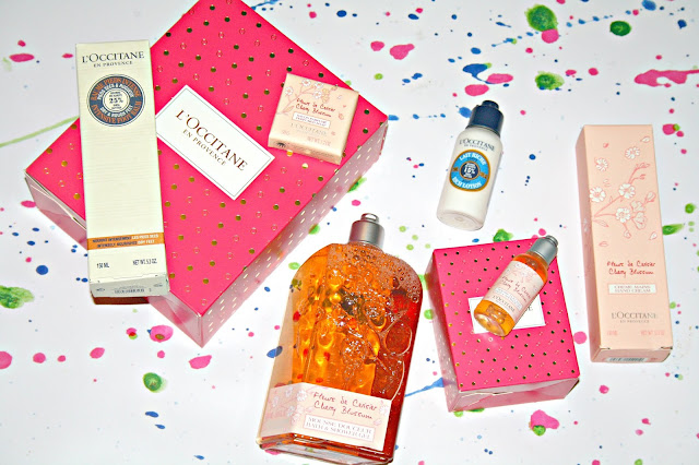L'Occitane QVC Christmas Floral Collection Contents