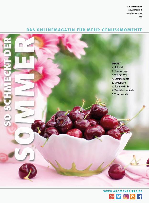Sommerkuche Die Neue Ausgabe Ist Online Aromenspiele Online