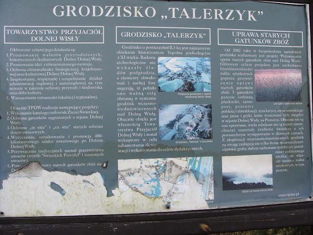Wczesnośredniowieczne grodzisko w Topolnie, tzw. Talerzyk
