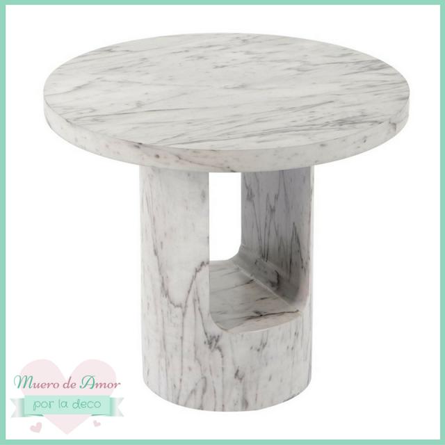 Mesa de mármol