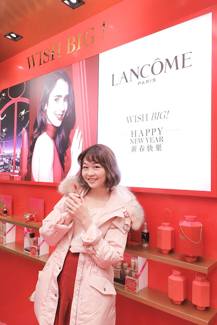 Lancomehk, CNY2019, Genifique小黑瓶, YearofPig, 夏沫, kol, blogger, cosmetics, lovecathcath, cushion, lovecath, catherine, ootd, beauty, makeup, LANCÔME