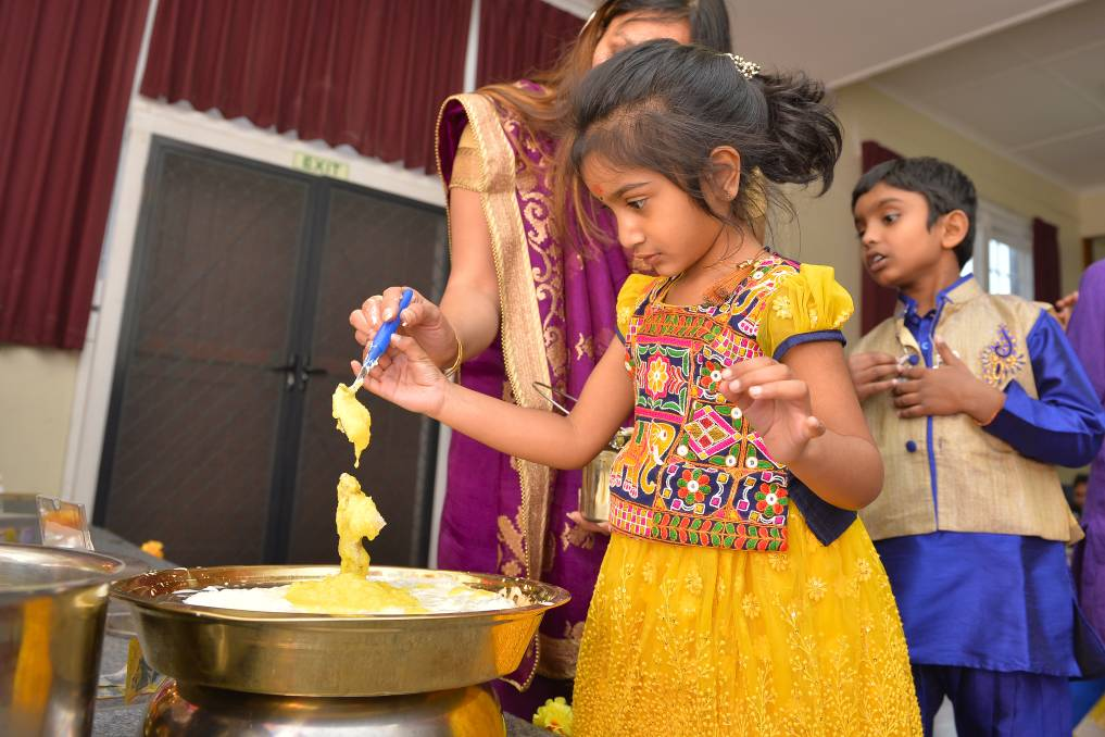 Hindu community celebrates major occasion in Ballarat City Australia