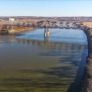 Crews Bring Down Former Bridge to Make Way for New