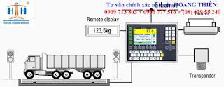 HTH chuyên thay thế thiết bị cân xe tải 120 tấn