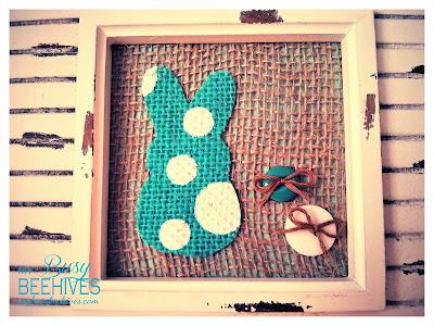 CIY Spring Bunny Frame