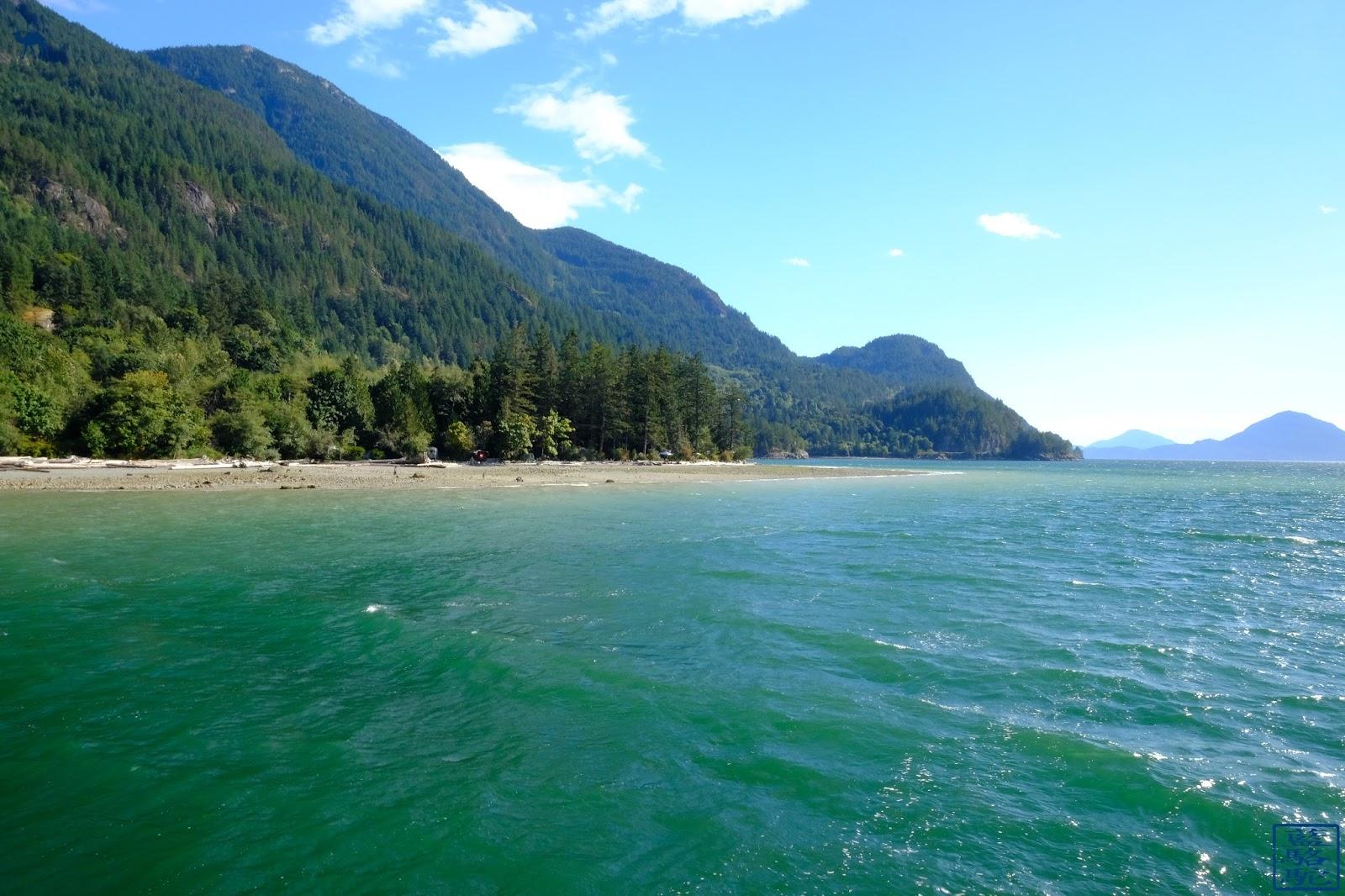 Le Chameau Bleu - Paysage de Porteau Cove