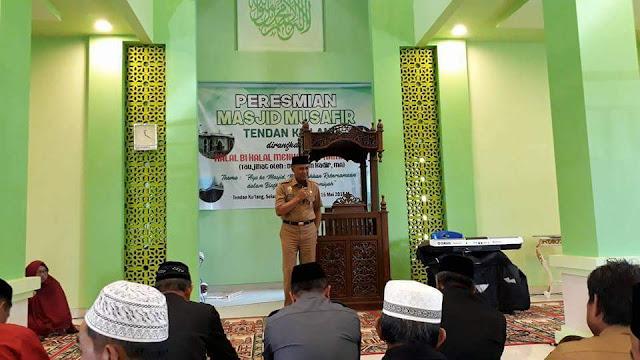 Masjid Tendan Ku'lang Akhirnya Diresmikan di Perbatasan Tana Toraja- Enrekang