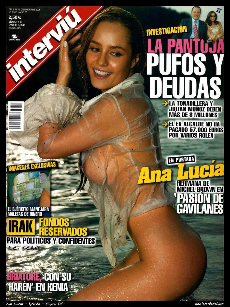 Ana Lucia Desnuda sohot3new: ana lucia dominguez y su desnudo para la revista