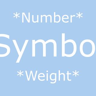 Periodic Table Symbols