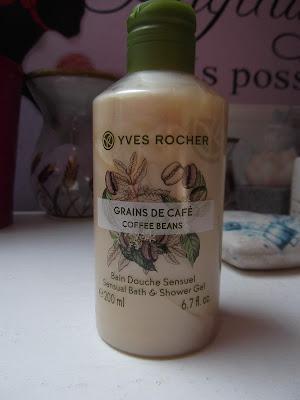 Yves Rocher sprchový gél Zrnká kávy