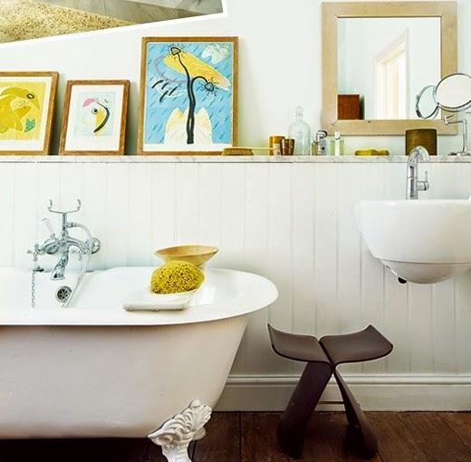 Decotips] El baño ¡A CUADROS! | Decoración