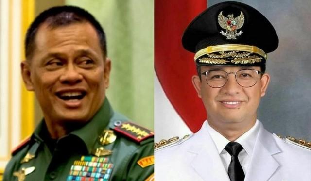 Eep: Simulasi Penantang Jokowi, Gatot-Anies Didukung 50 Persen Lebih