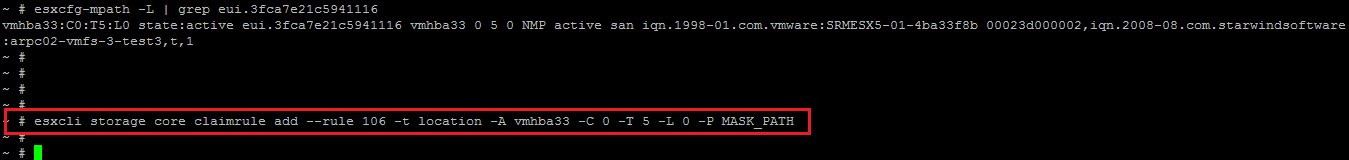 Mask a datastore using Claimrules | TechCrumble