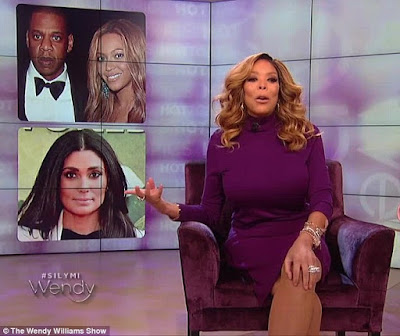 GIST: Wendy Williams Thinks Beyonce And Jay Z Paid Rachel Roy For The Cheating Drama