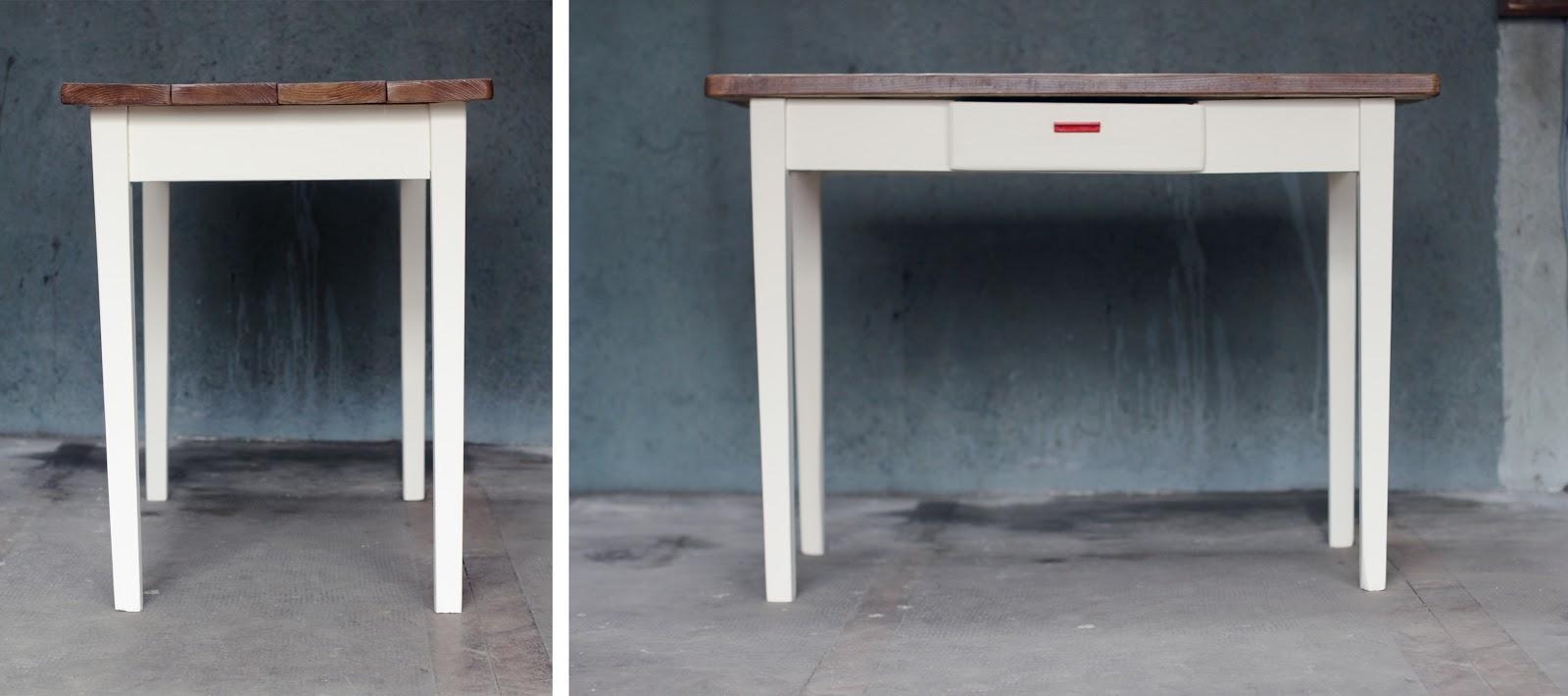 de derri re les fagots la petite table manger ou bureau 150 euros vendue. Black Bedroom Furniture Sets. Home Design Ideas