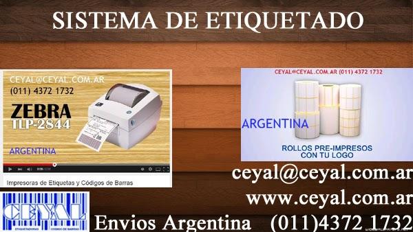 EAN 13 etiquetas adhesivas impresas Buenos Aires Arg