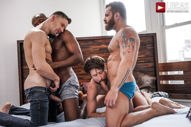 LucasEntertainment - EXTREME DOUBLE PENETRATION | ANDREY, DREW, RILEY, ANDRE